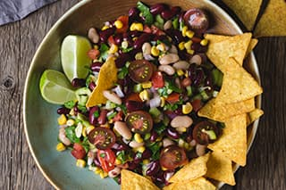 Cowboy Caviar with Black and Pinto Beans